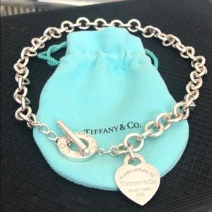 Return to Tiffany - Heart Tag Toggle Necklace